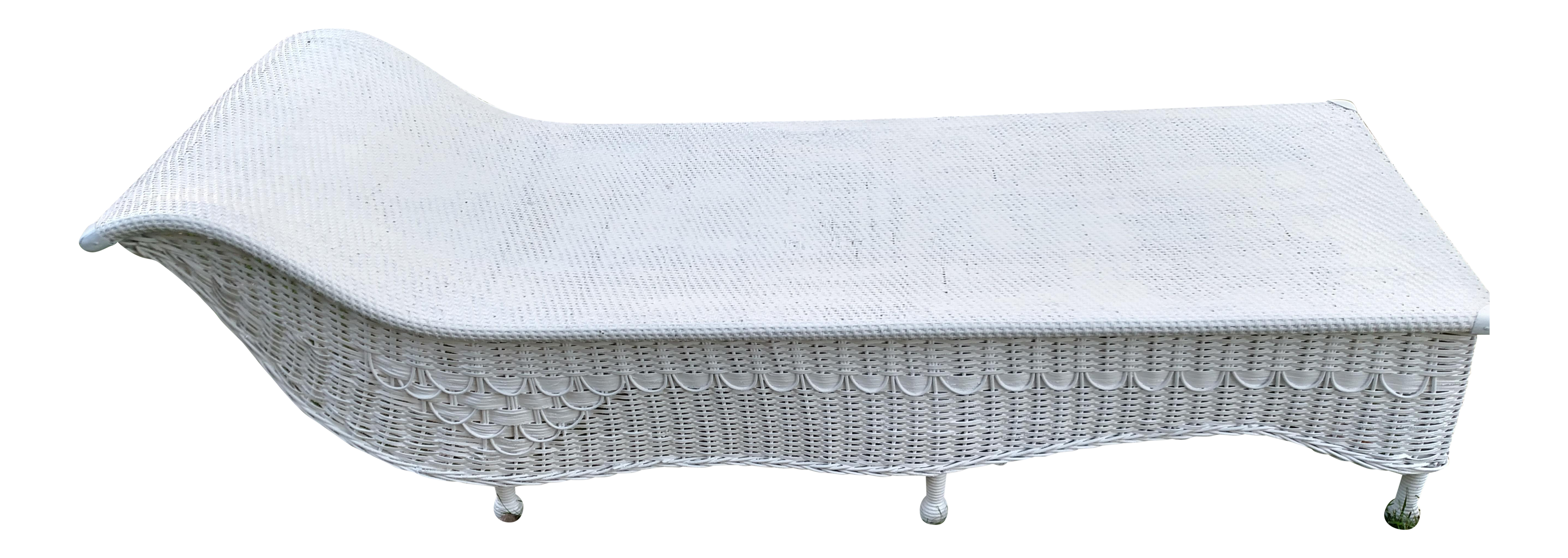 Vintage fainting couch Faint Vintage Wicker Fainting Couch For Sale Corserctrcom Vintage Wicker Fainting Couch Chairish