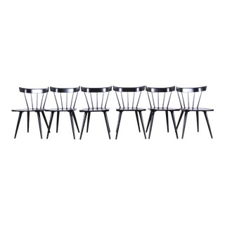 Paul McCobb Planner Group Mid-Century Modern Spindle Back Dining Chairs - Set of Six For Sale