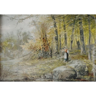 """""""Maiden in Forest"""" Framed Print Preview"""