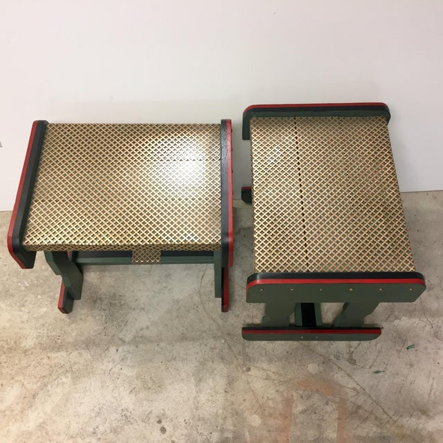 Gucci Inspired Side Tables - A Pair - Image 3 of 11