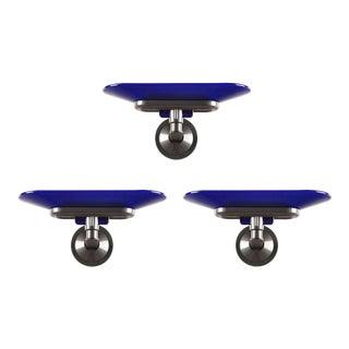 Arteluce Blue Jill Wall Sconces - Set of 3 For Sale
