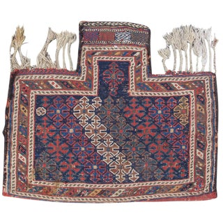 Persian Wool Flatwoven Saltbag For Sale