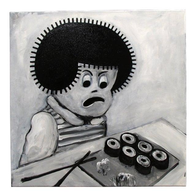 """Sushi"" Pop Art Cartoon by Junior Martin - Image 1 of 3"