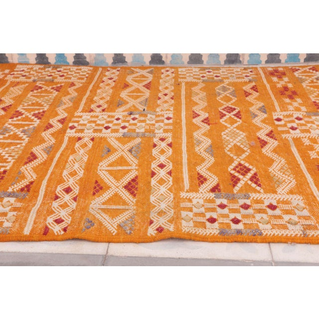 "Aknif Moroccan Runner Rug - 2'5"" x 8'6"" - Image 3 of 3"
