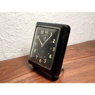 Black Mid-Century Modern Westclox Spur Alarm Clock, C. 1940s Preview