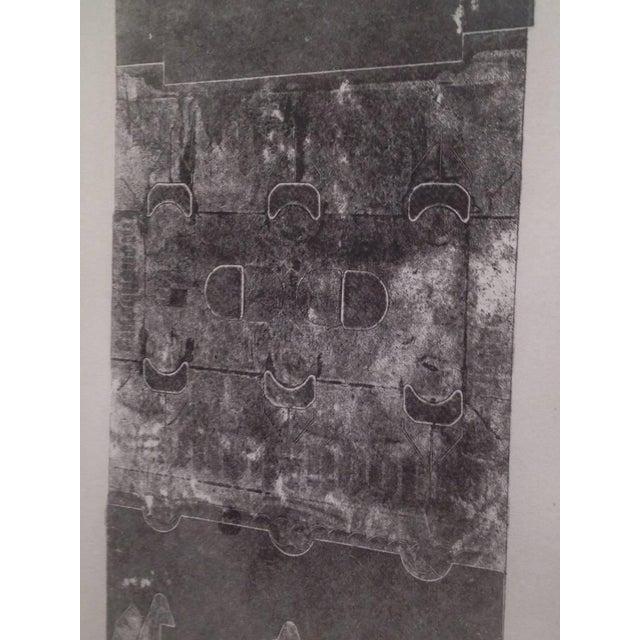 Maria Simoni Maria Simoni Original Framed Pressed Serigraph For Sale - Image 4 of 5