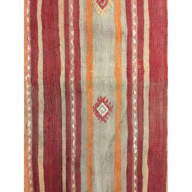 """Bellwether Rugs Vintage Turkish Kilim Rug - 4'11"""" x 7'9"""" - Image 7 of 9"""