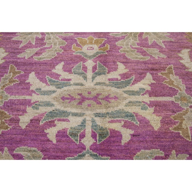 "Wool Sultanabad Rug - 8' x 10'6"" - Image 5 of 7"