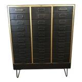 Image of 1960s Refurbished Metal Cabinet For Sale