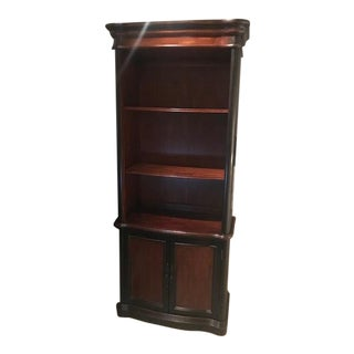 Traditional Hooker Furniture Two Tone Wooden Bookcase For Sale