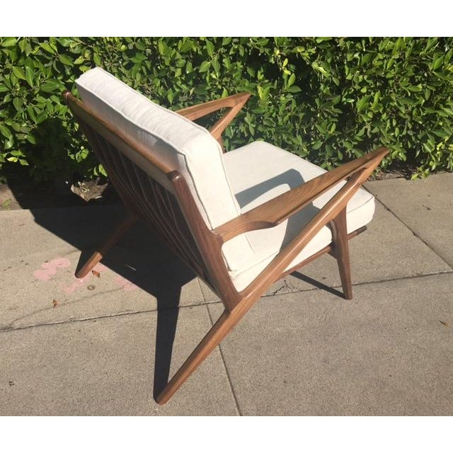 """Mid-Century Modern Style """"Z"""" Chair - Image 5 of 5"""