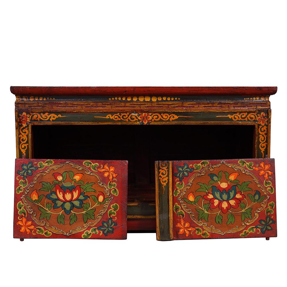 Tibetan Antique Altar Coffee Table For Sale   Image 4 Of 11