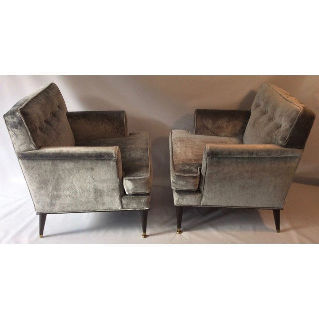 Mid-Century Probber Attr. Lounge Chairs - Pair - Image 3 of 10