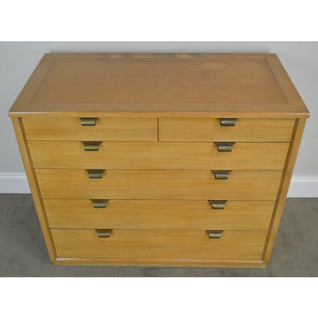 Edward Wormley for Drexel Precedent Pair Mid Century Modern Chests For Sale - Image 12 of 13