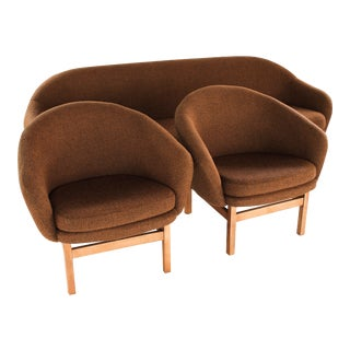 Rare Viko Baumritter Mid Century Sofa Set - Set of 3 For Sale