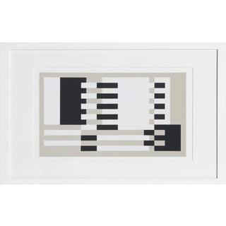 Josef Albers - Portfolio 2, Folder 31, Image 2 Framed Silkscreen For Sale