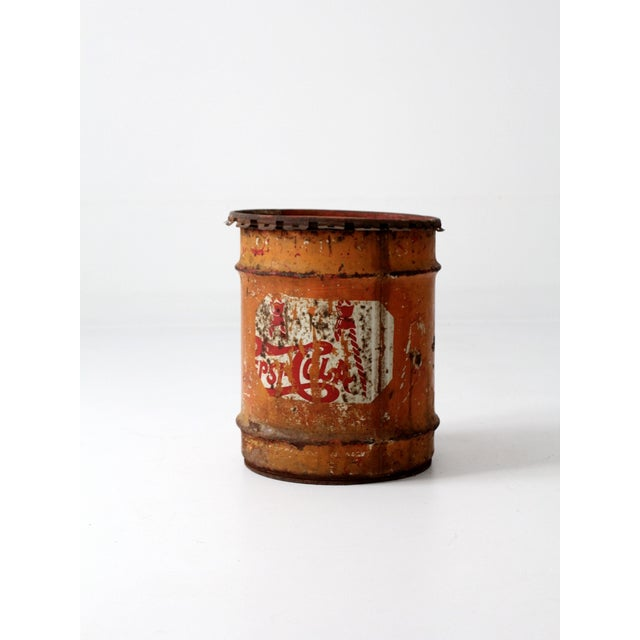 American Vintage Pepsi-Cola Syrup Can For Sale - Image 3 of 8