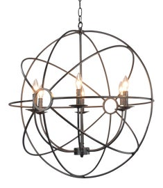 Image of Newly Made Orb Chandeliers