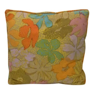 1970s Jack Lenor Larsen Fabric Accent Pillow For Sale