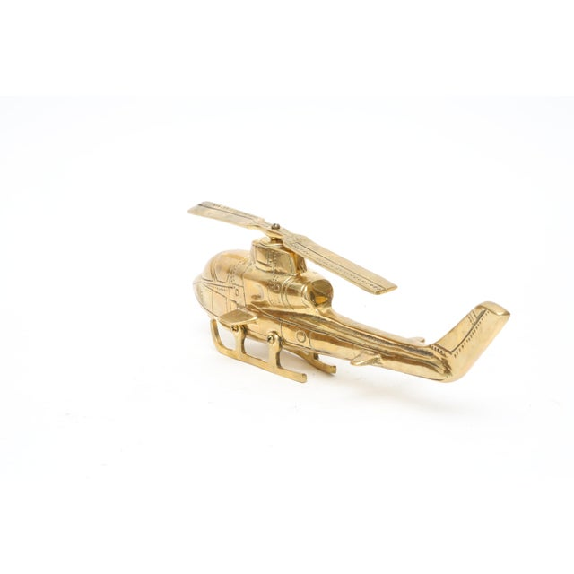 Vintage Brass Helicopter - Image 2 of 5