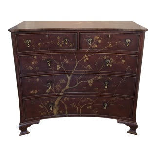 Modern History Furniture Hand Painted Large Chest