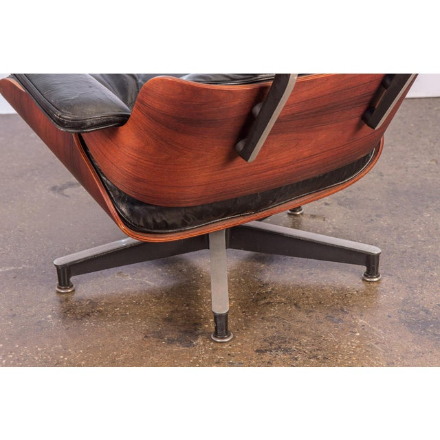 Second Generation 1960s Eames 670 Lounge Chair for Herman Miller For Sale - Image 9 of 11