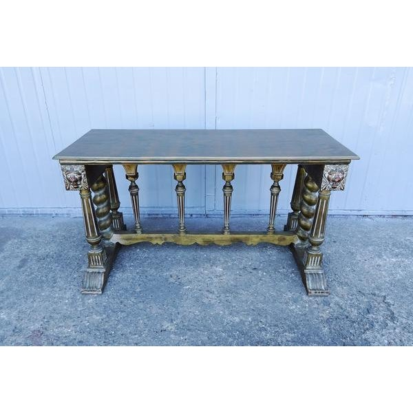 Shabby Chic Imperial Style Coffee Side Table - Image 8 of 8
