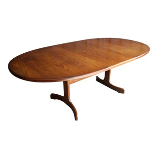 Teak Oval Dining Table by Victor Bramwell Wilkins for G Plan For Sale