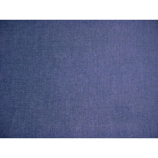 2010s Modern Osborne and Little Castello Blue Chenille Upholstery Fabric- 6-1/8 For Sale - Image 5 of 5