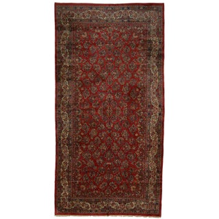 """Early 20th Century Antique Persian Sarouk Palace Size Rug-11'8"""" X 22'10"""" For Sale"""