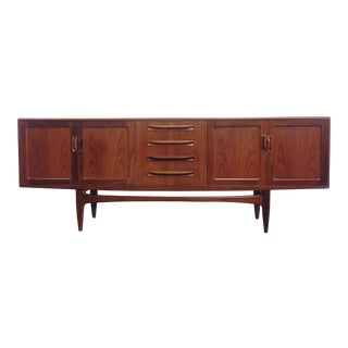 Teak Sideboard Credenza by Victor Wilkins for G Plan For Sale