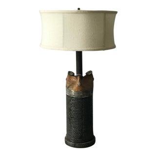 Bengt Berglund for Gustavsberg Ceramic Lamp For Sale