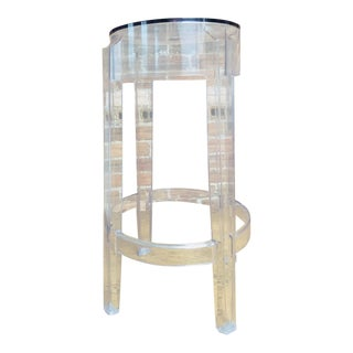 Philippe Starck Kartel Acrylic Ghost Stool For Sale
