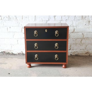 Fine Three-Drawer Chest or Nightstand by Baker Furniture Preview