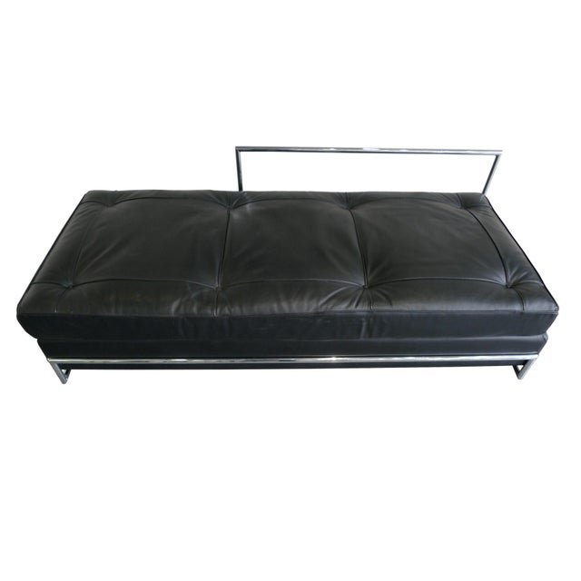 Eileen Gray Chrome and Leather Daybed - Image 2 of 8