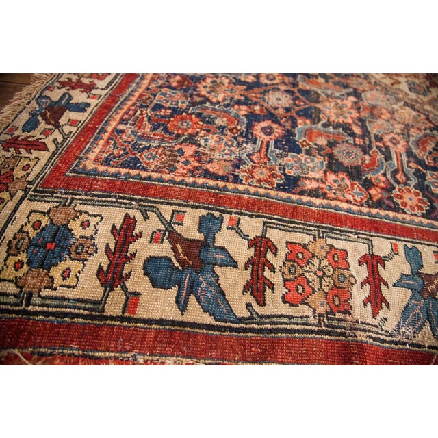 "Antique Bijar Area Rug - 5'4"" X 6'8"" - Image 4 of 10"