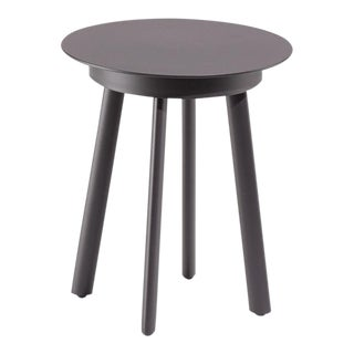 Outdoor End Table, Carbon For Sale