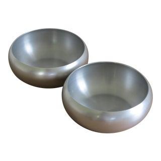 Lurelle Guild for Kensington Inc. Spun Aluminum Bowls - a Pair