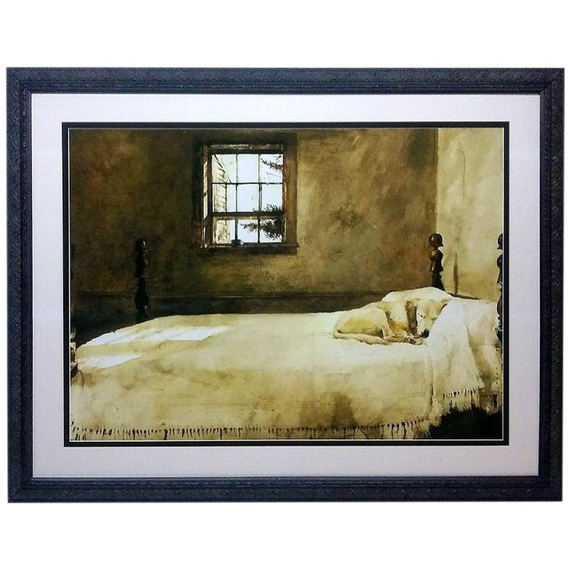 Master Bedroom Print by Andrew Wyeth