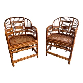 1960s Vintage Brighton Chairs - a Pair For Sale