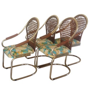 Tropical Bassett Cantilever Dining Chair- Set