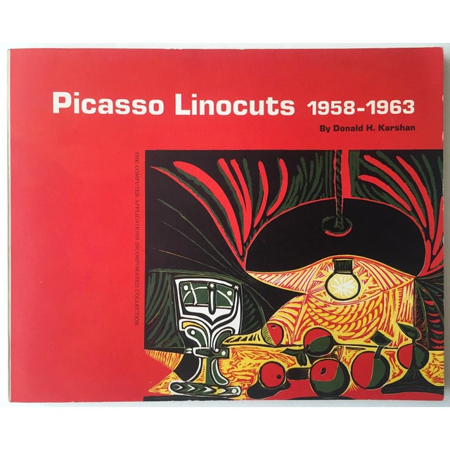 """ Picasso Linocuts 1958 - 1963 "" Rare Vintage 1968 1st Edition Lithograph Print Collector's Exhibition Art Book For Sale - Image 13 of 13"