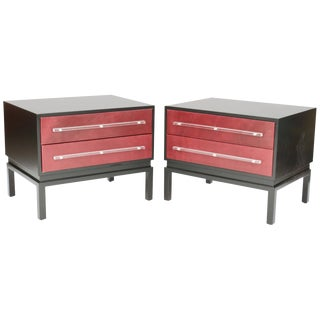 Mid-Century Modern Night Stands After Paul Laszlo-A Pair For Sale