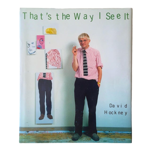 """David Hockney """" That's the Way I See It """" Vintage 1993 First Edition Hardcover Pop Art Book For Sale"""