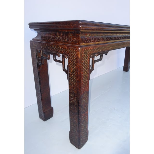 Chinoiserie Console by John Widdicomb For Sale - Image 7 of 8