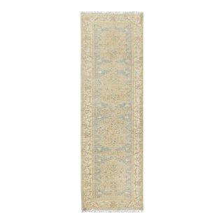 """Pasargad N Y Hand-Knotted Farahan Rug - 2'8"""" X 9'8"""" For Sale"""