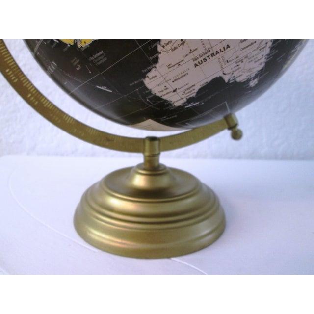 Black Spinning World Globe - Image 4 of 8