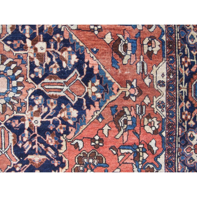 19th Century Fereghan Sarouk Rug For Sale - Image 9 of 10