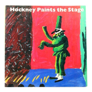 Hockney Paints the Stage, First Edition For Sale