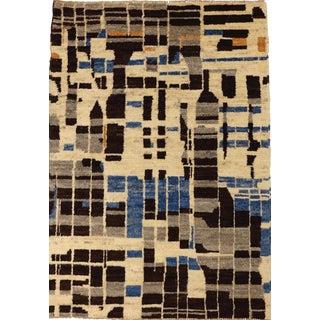 Contemporary Modernist Design Rug - 3′10″ × 5′5″
